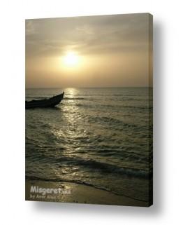 ערים בישראל חיפה | שקיעה