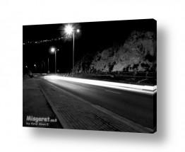 אורבני כבישים | תאורה לילית