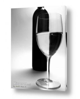 אוכל אלכוהול | בקבוק וכוס