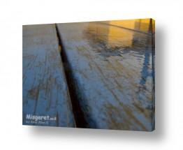 תמונות לפי נושאים רטוב   ספסל בחורף
