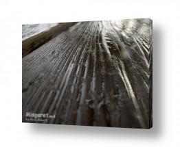תמונות לפי נושאים רטוב   ספסל עץ