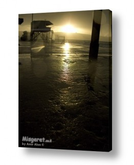 תמונות לפי נושאים רטוב   חוף הים בחורף