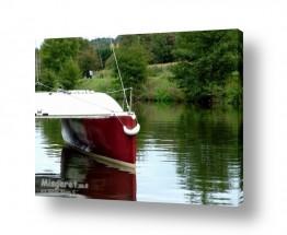 צילומים תחבורה   סירה בנהר