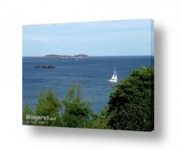 תמונות לפי נושאים לבנה | סירת מפרש לבנה