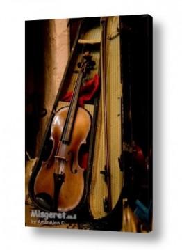 צילומים מוסיקה | כינור ישן