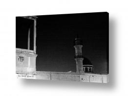 דת איסלם | מסגד בלילה קר