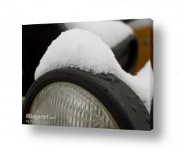 צילומים תחבורה   ערימת שלג