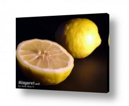 צילומים אוכל | לימון וחצי