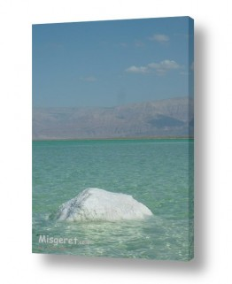 ימים ואגמים בישראל ים המלח | גוש מלח
