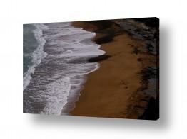 נוף חול | גלים בצבע