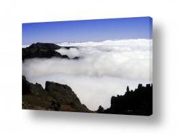 תמונות לפי נושאים סלע וולקני | קערה של עננים