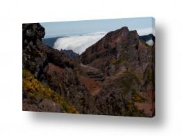 תמונות לפי נושאים סלע וולקני | מפל של עננים