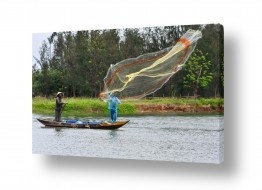 אסיה ויאטנם | דיג אוהב דגים? מטילים רשת