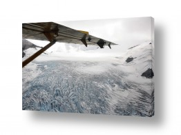 ארצות הברית קנדה | קרחון עד ממעוף הציפור