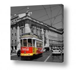 צילומים תחבורה | קרונית של צבע