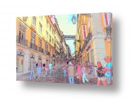 תמונות לפי נושאים פורטוגל | העיר בפסטל