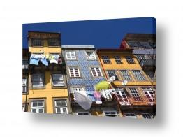 תמונות לפי נושאים פורטוגל | כביסה צבעונית