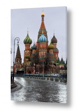 אסיה רוסיה | הכיכר האדומה באפור