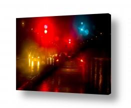 תמונות לפי נושאים אורבני | צבעים בגשם