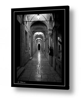 צילומים שחור לבן | מסדרון