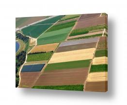 תמונות לפי נושאים צילום אוויר | כתמי צבע