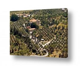 תמונות לפי נושאים צילום אוויר | מנזר השתקנים  151