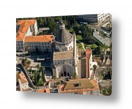 תמונות לפי נושאים צילום אוויר | כנסיית הבשורה