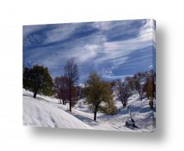 עונות השנה חורף | שלג בחרמון
