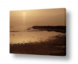 צילומים חופים וים | זריחה בים המלח 02