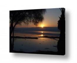 צילומים חופים וים | זריחה בים המלח 03