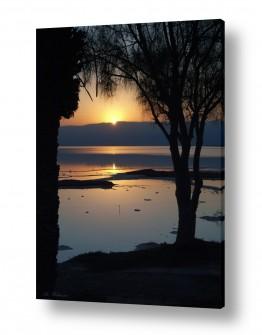 צילומים נוף | זריחה בים המלח 06
