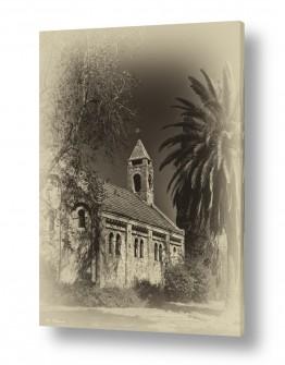 צילומים שחור לבן | כנסייה טמפלרית