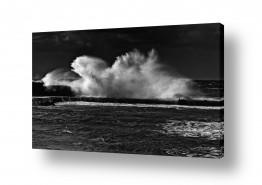 צילומים מזג-אוויר   סערה בנמל 02