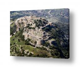 תמונות לפי נושאים צילום אוויר | מבצר נמרוד