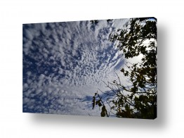 תמונות לפי נושאים צבעים | ציור מעונן 02