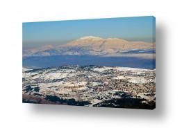 צילומים צילום אוויר | צפת הלבנה.