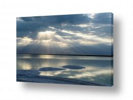 נוף שמים | זריחה בכחול