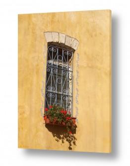 תמונות לחדר מגורים | חלון מעוטר