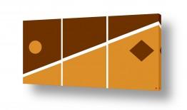 ציורים אבסטרקט | דגם גאומטרי 3