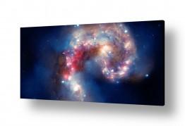 ציורים מדע בדיוני | Galactic Spectacle - חלל