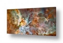 ציורים מדע בדיוני | Carina Galaxy - חלל