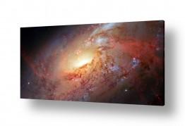 ציורים מדע בדיוני | Galaxy M106 - חלל