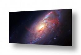 ציורים מדע בדיוני | Spiral Galaxy - חלל