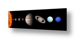 ציורים Artpicked- space |  כוכבי מערכת השמש