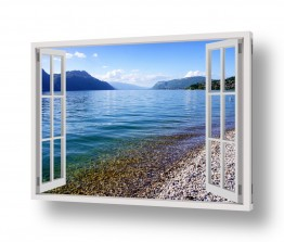 נופים וטבע הרים | האגם השקט