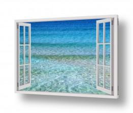 צילומים חופים וים   כחול עמוק