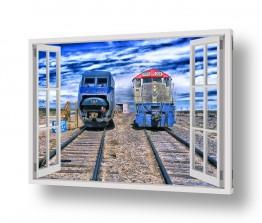 כלי רכב רכבות | מסילת הרכבת