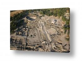 תמונות לפי נושאים צילום אוויר   בית שאן   Bet She'an