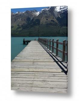 תמונות לפי נושאים ניו זילנד | גשר צר