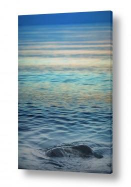 נוף מיים | אבן במים